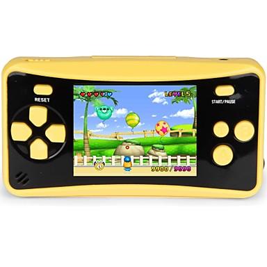 رخيصةأون اكسسوارات ألعاب الفيديو-qs-4 وحدة ألعاب محمولة باليد للألعاب للأطفال ، نظام ألعاب الفيديو ، مشغل ألعاب فيديو مع شاشة LCD ملونة 2.5 و 182 لعبة كلاسيكية ريترو مدمجة هدية عيد ميلاد رائعة للأطفال