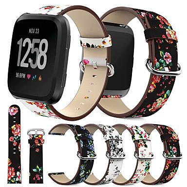 voordelige Smartwatch-accessoires-pioenprint voor fitbit versa polsbanden voor horlogeaccessoires