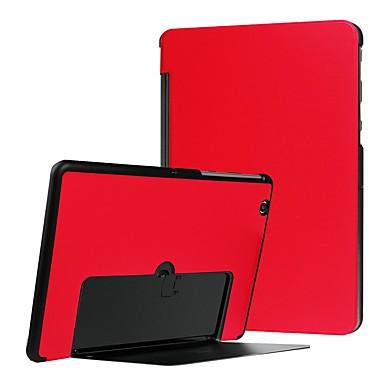 رخيصةأون LG أغطية / كفرات-غطاء من أجل LG LG G Pad X II 10.1 ضد الصدمات / مع حامل / نحيف جداً غطاء كامل للجسم لون سادة قاسي جلد PU