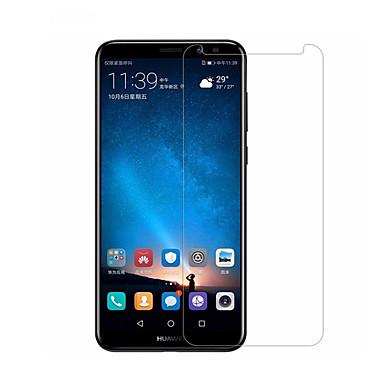olcso Huawei képernyővédők-HuaweiScreen ProtectorMate 10 lite 9H erősség Kijelzővédő fólia 1 db Edzett üveg