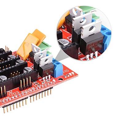 rampe 1.4 kontroler ploča 5pcs drv8825 stepstick vozač modul za 3d pisač