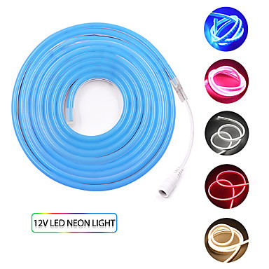 رخيصةأون شرائط ضوء مرنة LED-kwb 4m شرائط ضوء led مرنة 480 المصابيح smd3528 12mm الدافئة الأبيض / الأبيض / الأحمر للماء / الإبداعية / cuttable 12 فولت 1 مجموعة