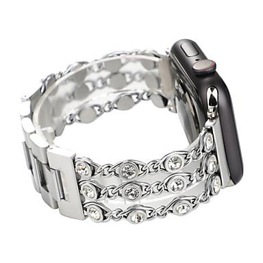 Недорогие Аксессуары для смарт-часов-SmartWatch Band для Apple Watch серии 4/3/2/1 ювелирные изделия с бриллиантами ремешок iwatch