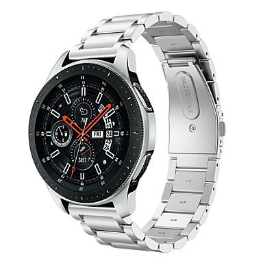voordelige Smartwatch-accessoires-horlogebandje voor samsung galaxy horloge 46 / gear s3 classic lte / gear s3 frontier samsung galaxy butterfly gesp roestvrij staal polsband