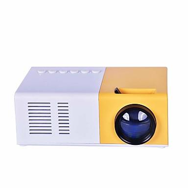 olcso Audió & videó kiegészítők-j9 mini kivetítő 1080p HD projektor ultrahordozható kivetítők led pico kivetítő támogatja a mobiltelefon házimozi multimédia vga kábelt usb hdmi