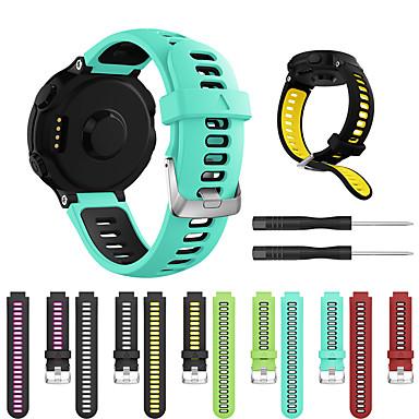 tanie Akcesoria do smartwatchów-Watch Band na Forerunner 735 / Forerunner 630 / Forerunner 620 Garmin Pasek sportowy Silikon Opaska na nadgarstek