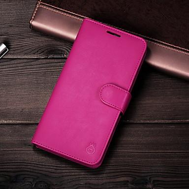 Недорогие Кейсы для iPhone 7 Plus-чехол для apple универсальный магнитный / держатель карты задняя крышка сплошная твердая натуральная кожа для iphone 6 / iphone 6 plus / iphone 6s