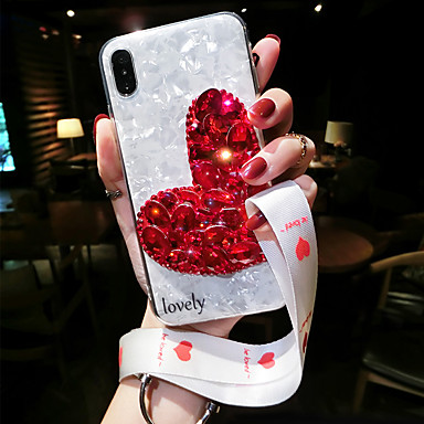 voordelige iPhone 7 hoesjes-hoesje voor apple iphone xs / iphone xr shockproof achterkant bloem zachte silicagel voor iphone xs / iphone xr