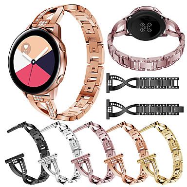 voordelige Smartwatch-accessoires-Horlogeband voor Samsung Galaxy Watch 42 / Samsung Galaxy Active Samsung Galaxy Sieradenontwerp Roestvrij staal Polsband