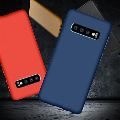 Недорогие Чехлы и кейсы для Galaxy S-Кейс для Назначение SSamsung Galaxy S9 / S9 Plus / S8 Plus Защита от удара / Ультратонкий / Матовое Кейс на заднюю панель Однотонный Мягкий ТПУ