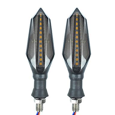 voordelige Motorverlichting-2 stks motorfiets gloeilampen led knipperlichten voor alle jaar
