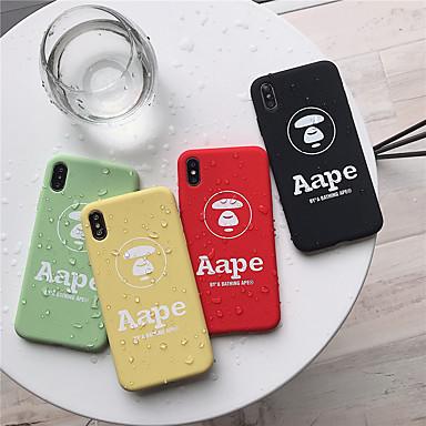 voordelige iPhone 6 Plus hoesjes-hoesje voor apple iphone xr / iphone xs max patroon achterkant woord / zin zachte siliconen voor iphone x xs 8 8plus 7 7plus 6 6plus 6s 6s plus