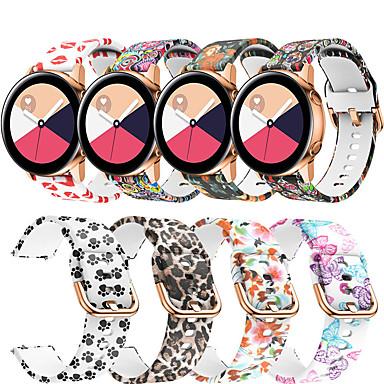 voordelige Smartwatch-accessoires-horlogebandje voor samsung galaxy horloge 42 / samsung galaxy actief / gear s2 samsung galaxy modern gesp / sportband siliconen polsriem