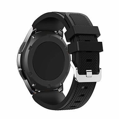 voordelige Horlogebandjes voor Samsung-Horlogeband voor Gear S3 Frontier Samsung Galaxy Klassieke gesp Silicone Polsband