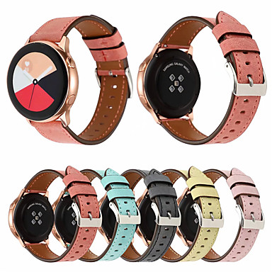 Недорогие Часы для Samsung-Ремешок для часов для Gear S2 Classic / Samsung Galaxy Watch 42 / Samsung Galaxy Active Samsung Galaxy Классическая застежка Натуральная кожа Повязка на запястье