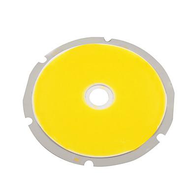 olcso LED-es kiegészítők-5pcs led lámpa gyöngy forrás meleg fehér természetes fehér hűvös fehér 30v 50w cob lámpa gyöngy fényforrás 80mm * 80mm világítás kiegészítők