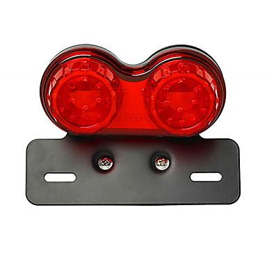voordelige Motorverlichting-12v motorfiets retro achterlicht rem stop running licht universele toepassing