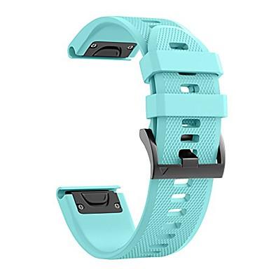 billiga Tillbehör till mobilen-Klockarmband för Approach S60 / Fenix 5 / Fenix 5 Plus Garmin Sportband Silikon Handledsrem