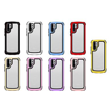 voordelige iPhone X hoesjes-hoesje voor apple iphone xs max / iphone 8 plus patroon / schokbestendige achterklep transparant / effen gekleurde harde acryl / tpu voor iphone 7 / iphone 6 plus / iphone 6s / iphone xs / iphone xr