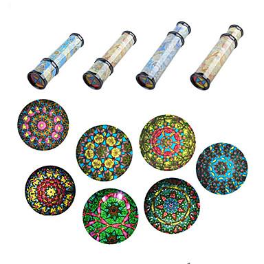hesapli Çiçek Dürbünleri-LITBest Kaleydoskop Eğitici Oyuncak Rahat Komik Nostaljik Eski Tip 1 pcs Çocuklar için Çocukların Günü Genç Erkek Genç Kız Oyuncaklar Hediye