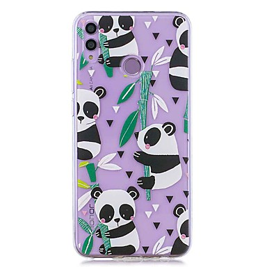 povoljno Maske za mobitele-kućište za huawei honor 8x / huawei p smart (2019) uzorak / prozirni poklopac bambus panda meko tpu za mate20 lite / mate10 lite / y6 (2018) / p20 lite / nova 3i / p smart / p20 pro