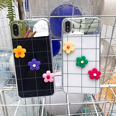 voordelige iPhone X hoesjes-hoesje voor apple iphone xr / iphone xs max spiegel achterkant cartoon hard acryl voor iphone 6 / iphone 6 plus / iphone 6s 7 8plus x xs xsmax xr