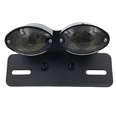 voordelige Motorverlichting-rook motorfiets led richtingaanwijzer rem kentekenplaat geïntegreerd achterlicht