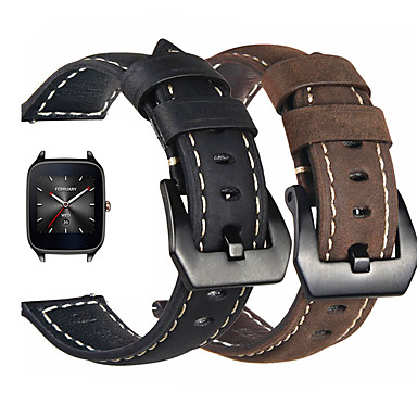 voordelige Smartwatch-accessoires-Horlogeband voor Asus ZenWatch 2 / Asus ZenWatch Asus Sportband / Klassieke gesp Echt leer Polsband