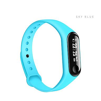 رخيصةأون ساعات ذكية-Z-YeuY M3L الرجال النساء سمارت ووتش Android iOS بلوتوث شاشة لمس رصد معدل ضربات القلب أصفر فاتح رياضات Smart عداد الخطى تذكرة بالاتصال متتبع النشاط متتبع النوم تذكير المستقرة