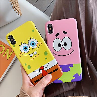 voordelige iPhone-hoesjes-case voor apple iphone xr / iphone xs max patroon achterkant dier / cartoon zachte tpu voor iphone x xs 8 8 plus 7 7 plus 6 6 plus 6 s 6 s plus