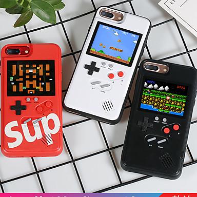 voordelige iPhone-hoesjes-hoesje voor apple iphone xs max / iphone x game hoesje achterkant woord / zin / effen gekleurde harde tpu voor iphone 6 / iphone 6 plus / iphone 6s 7 8plus x xs xsmax xr