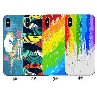 voordelige iPhone 6 Plus hoesjes-hoesje voor apple iphone xr / iphone xs max vintage kunst inkt schilderij patroon achteromslag lijnen / golven zachte tpu voor iphone x xs 8 8 plus 7 7 plus 6 6 plus 6s 6s plus