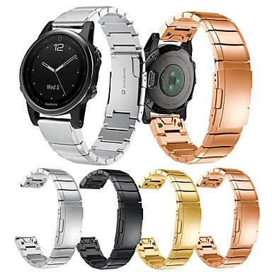 Недорогие Аксессуары для смарт-часов-smartwatch band для fenix 6 / fenix 6s pro garmin классическая пряжка из нержавеющей стали модный ремешок