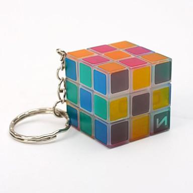 olcso Bűvös kocka-Magic Cube IQ Cube Sima Speed Cube Stresszoldó Puzzle Cube Kulcstartóval Professzionális Gyermek Felnőttek Játékok Fiú Lány Ajándék