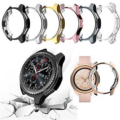 Недорогие Аксессуары для смарт-часов-Кейс для Назначение SSamsung Galaxy Samsung Galaxy Watch 46 PU Samsung Galaxy