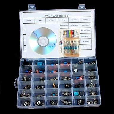 olcso Szenzorok-37 in 1 érzékelő modul készlet az arduino uno r3 mega 2560 mega nano számára