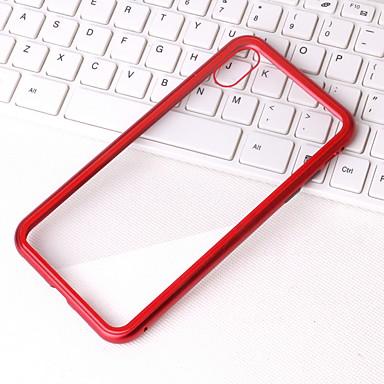 voordelige iPhone 6 Plus hoesjes-hoesje Voor Apple iPhone XS / iPhone XR / iPhone XS Max Transparant Achterkant Transparant Hard Metaal