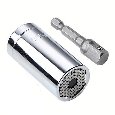 olcso Eszközök vészhelyzetre-7-19 mm-es univerzális állítható forgatónyomaték racsnis csavarkulcs készlet, többfunkciós kézi szerszámkészlet