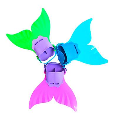 439714885faa99 Duiken Vinnen Zwemvliezen Meermin Verstelbare pasvorm Korte flipper Zwemmen Duiken  Snorkelen TPR PP - voor Kinderen Fuchsia Groen Lichtblauw 5689252 2019 ...