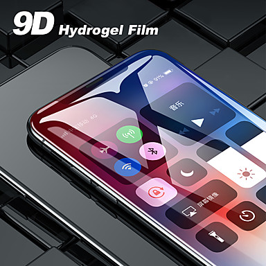 voordelige iPhone screenprotectors -Screenprotector voor Apple TPU Hydrogel Voorkant screenprotector Explosieveilige