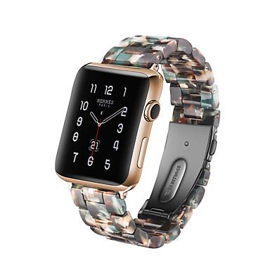 Недорогие Аксессуары для смарт-часов-Ремешок для часов для Серия Apple Watch 5/4/3/2/1 Apple Спортивный ремешок Керамика Повязка на запястье