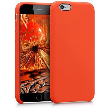 Недорогие Кейсы для iPhone-Кейс для Назначение Apple iPhone 6s / iPhone 6 / iPhone SE (2020) Защита от удара / Защита от пыли Кейс на заднюю панель Однотонный Мягкий ТПУ