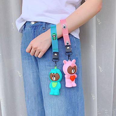 Недорогие Чехлы и кейсы для HTC-Портмоне для портативных наушников сумка для хранения милый мультфильм силиконовый ремешок