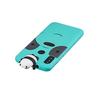 Недорогие Чехлы и кейсы для Xiaomi-чехол для redmi 6 pro 3d мультфильм прекрасный цветной окрашены мягкой тпу задняя крышка нескользящей противоударный полный защитный