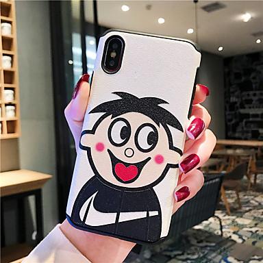 voordelige iPhone-hoesjes-hoesje Voor Apple iPhone XS / iPhone XR / iPhone XS Max Schokbestendig / Stofbestendig / Patroon Achterkant Cartoon silica Gel