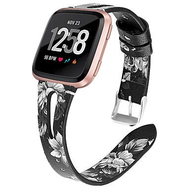 Недорогие Ремешки для Apple Watch-Ремешок для часов для Apple Watch Series 4 / Apple Watch Series 4/3/2/1 / Apple Watch Series 3 Apple Кожаный ремешок Натуральная кожа Повязка на запястье