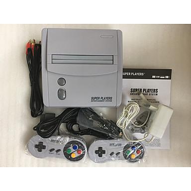 olcso Wii tartozékok-tv videojáték-konzol szuper játékosok szórakoztató rendszere 16 bites játékkonzol snes játékkazetta számára klasszikus 16 bites játékokkal