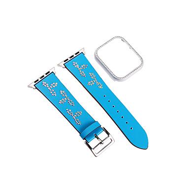 voordelige Smartwatch-accessoires-Horlogeband voor Apple Watch Series 4/3/2/1 Apple Klassieke gesp Echt leer Polsband