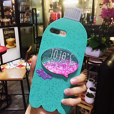 voordelige iPhone-hoesjes-geval voor apple iphone xs max / iphone 8 plus vloeiende vloeistof / schokbestendig / stofdicht achterkant glitter shine zachte tpu voor iphone 7/7 plus / 8/6/6 plus / xr / x / xs