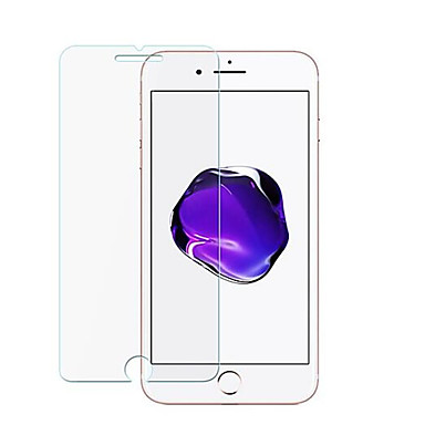 abordables Protectores de Pantalla para iPhone 6s / 6-protector de pantalla para apple iphone 8 plus / iphone 8 / iphone 7 plus vidrio templado 1 pc protector de pantalla frontal dureza 9h / borde curvo 2.5d / compatible con 3d touch